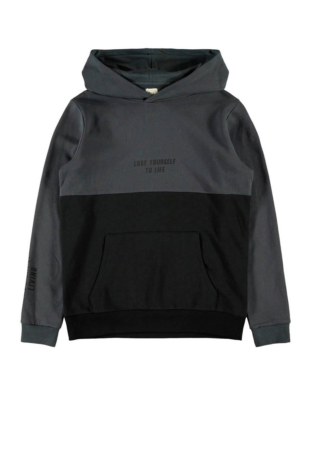 LMTD hoodie met biologisch katoen zwart, Zwart
