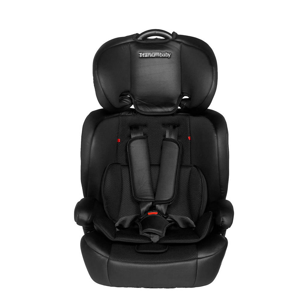 Titaniumbaby Niklas autostoel zwart, Zwart