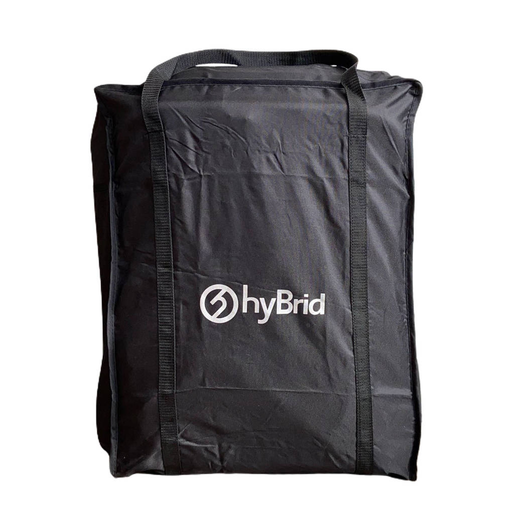 Titaniumbaby Hybrid Cabi S draagtas zwart, Zwart