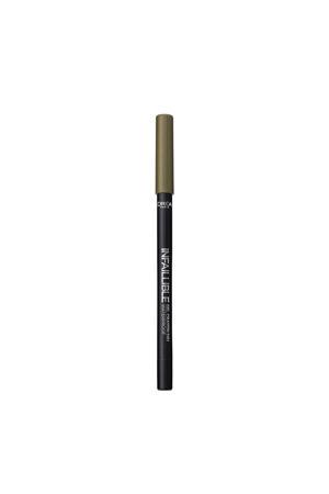 Infallible Gel Crayon Eyeliner - 01 Back to Black