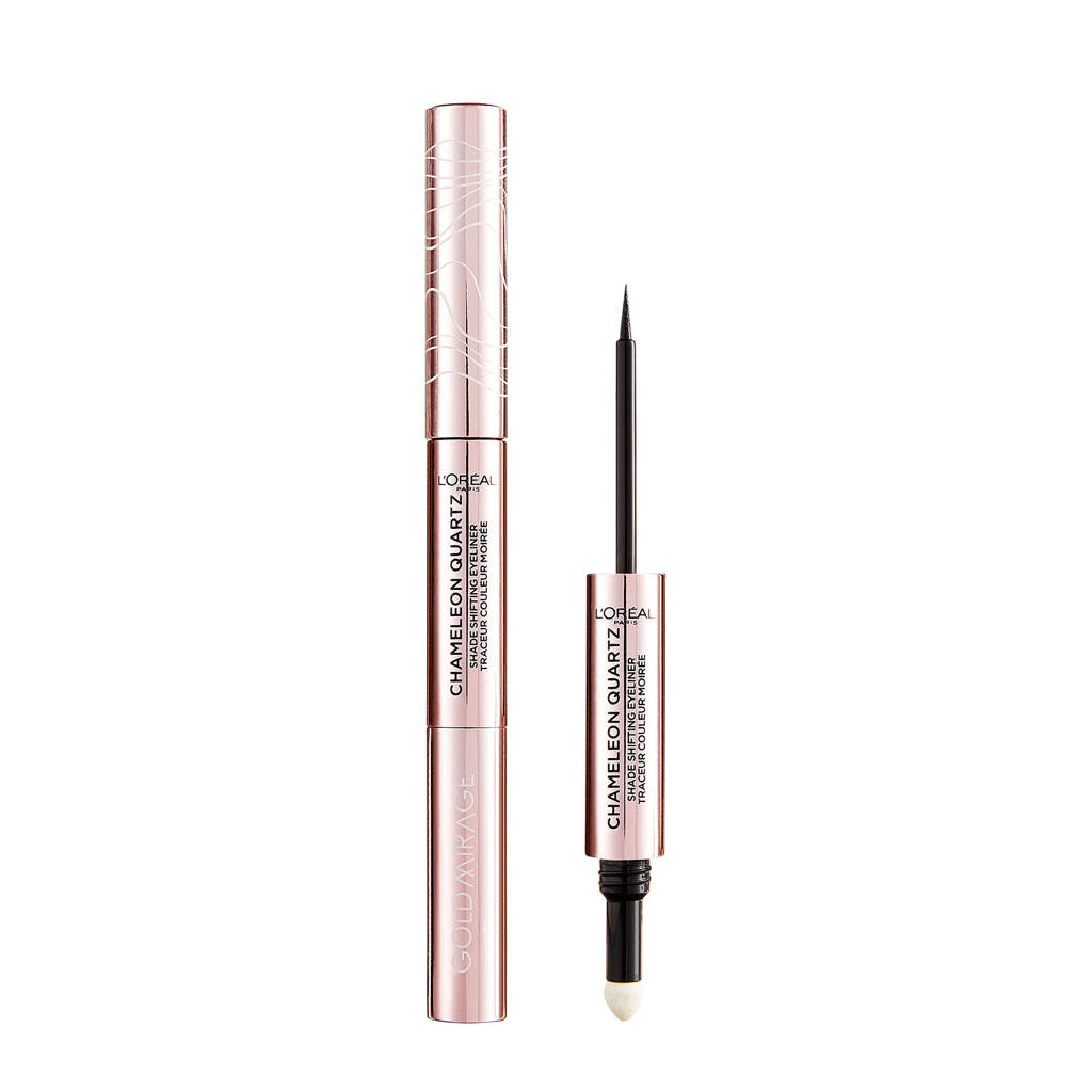 L'Oréal Paris Gold Mirage Duo Liquid Eyeliner - 02 Amethyst Light
