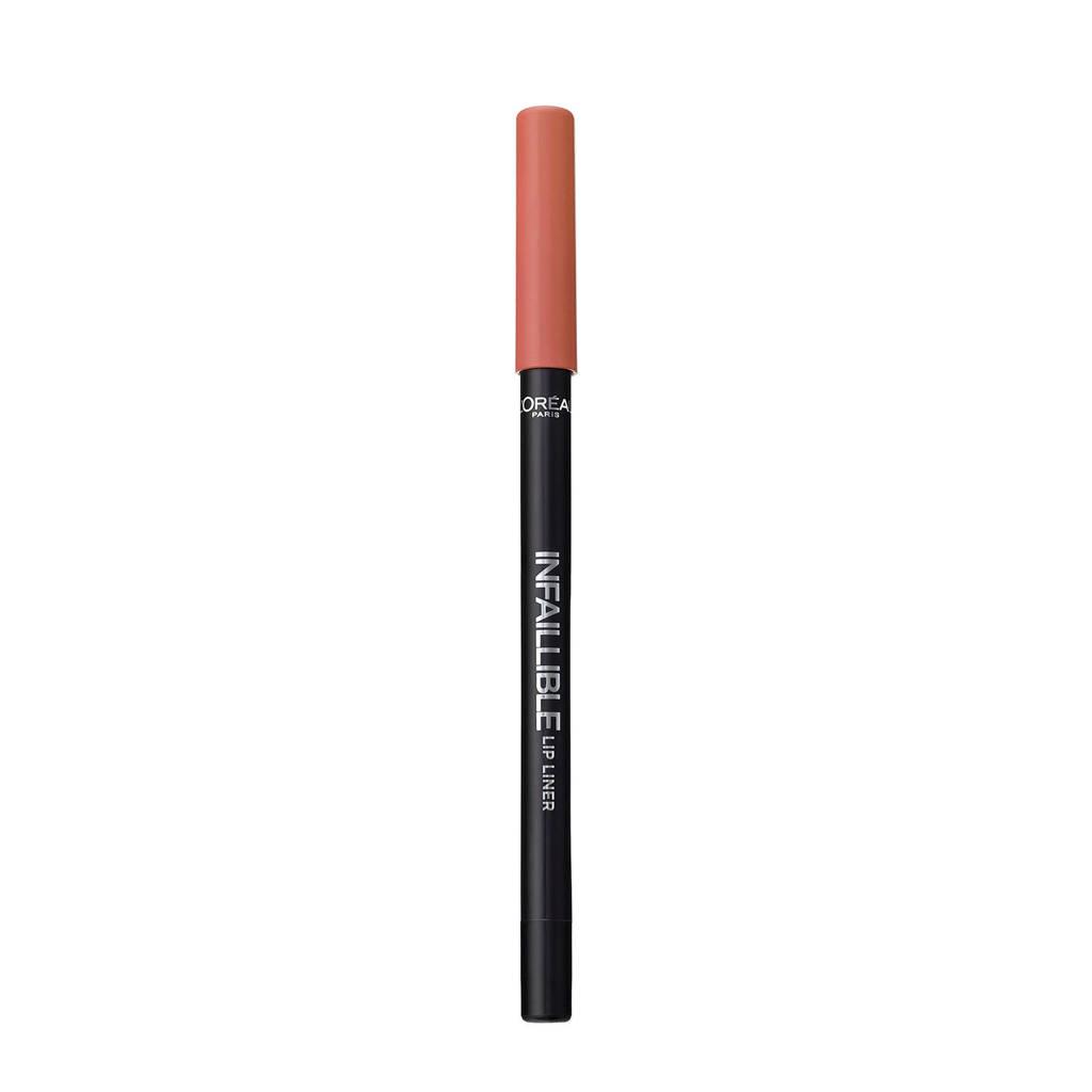L'Oréal Paris Infallible Lipliner - 101 Gone with the Nude