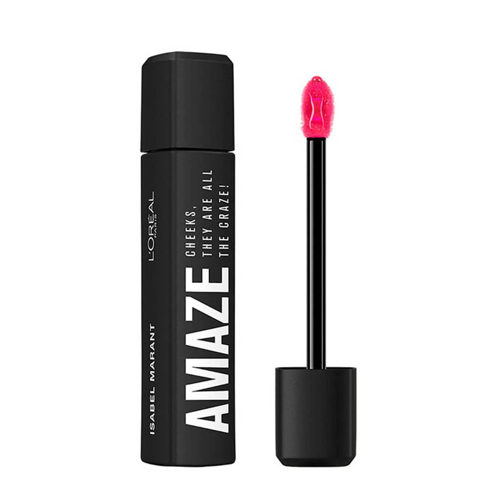 L'Oréal Paris X Isabel Marant Limited Edition 2-in-1 Blush en Lipgloss - Roze