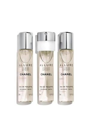 Allure Homme Sport geschenkset  - 60 ml