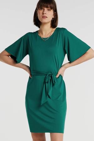 jurk smaragdgroen