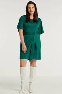 anytime jurk Plus size smaragdgroen, Smaragdgroen