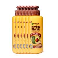 Garnier Avocado Olie & Karité Boter leave-in crème - 6x 200ml multiverpakking