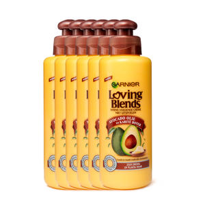 Avocado Olie & Karité Boter leave-in crème - 6x 200ml multiverpakking
