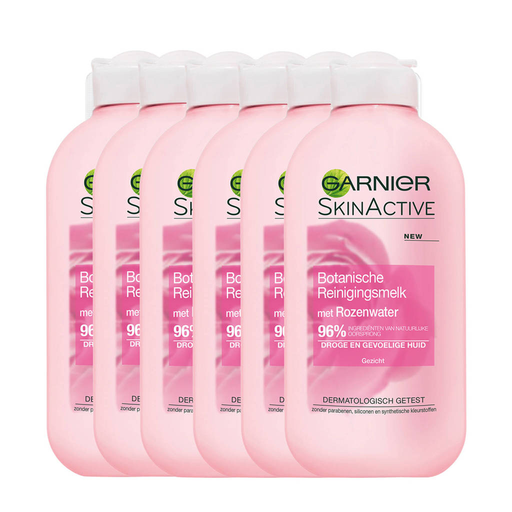 Garnier Skin Natural Essentials Botanische Reinigingsmelk - 6x 200 ml multiverpakking