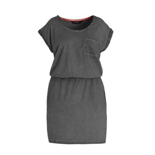anytime katoenen jurk Plus size met used-look grij