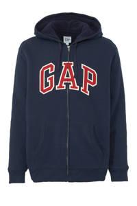 GAP vest met logo donkerblauw/rood, Donkerblauw/rood