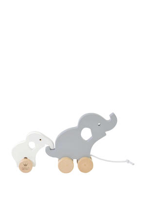 houten houten olifant set