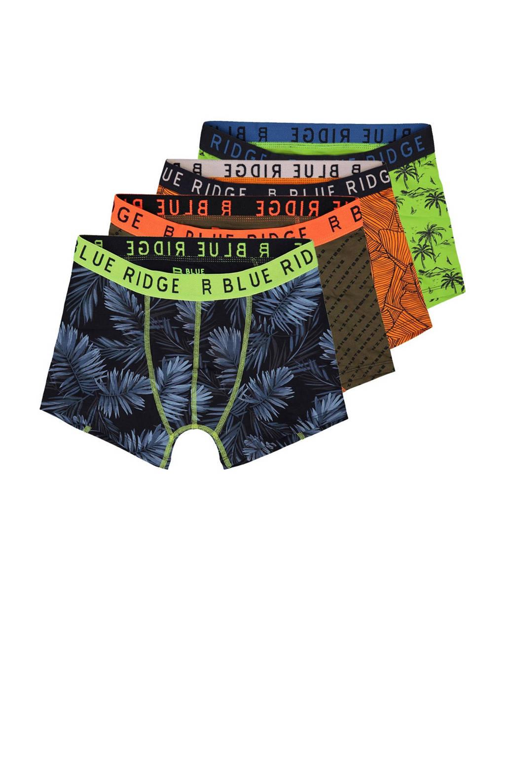 WE Fashion   boxershort (set van 4), Multi