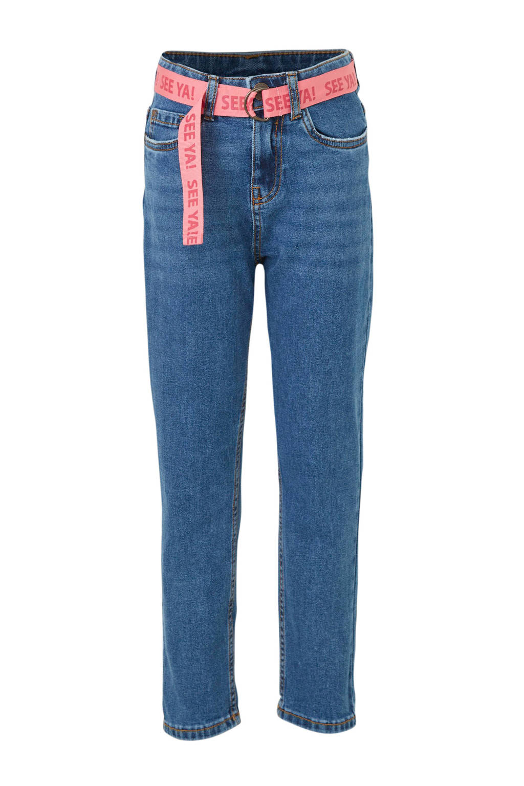 C&A Here & There regular fit jeans blauw, Blauw