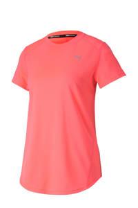 Puma sport T-shirt koraalrood, Koraalrood