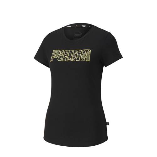 Puma T-shirt zwart