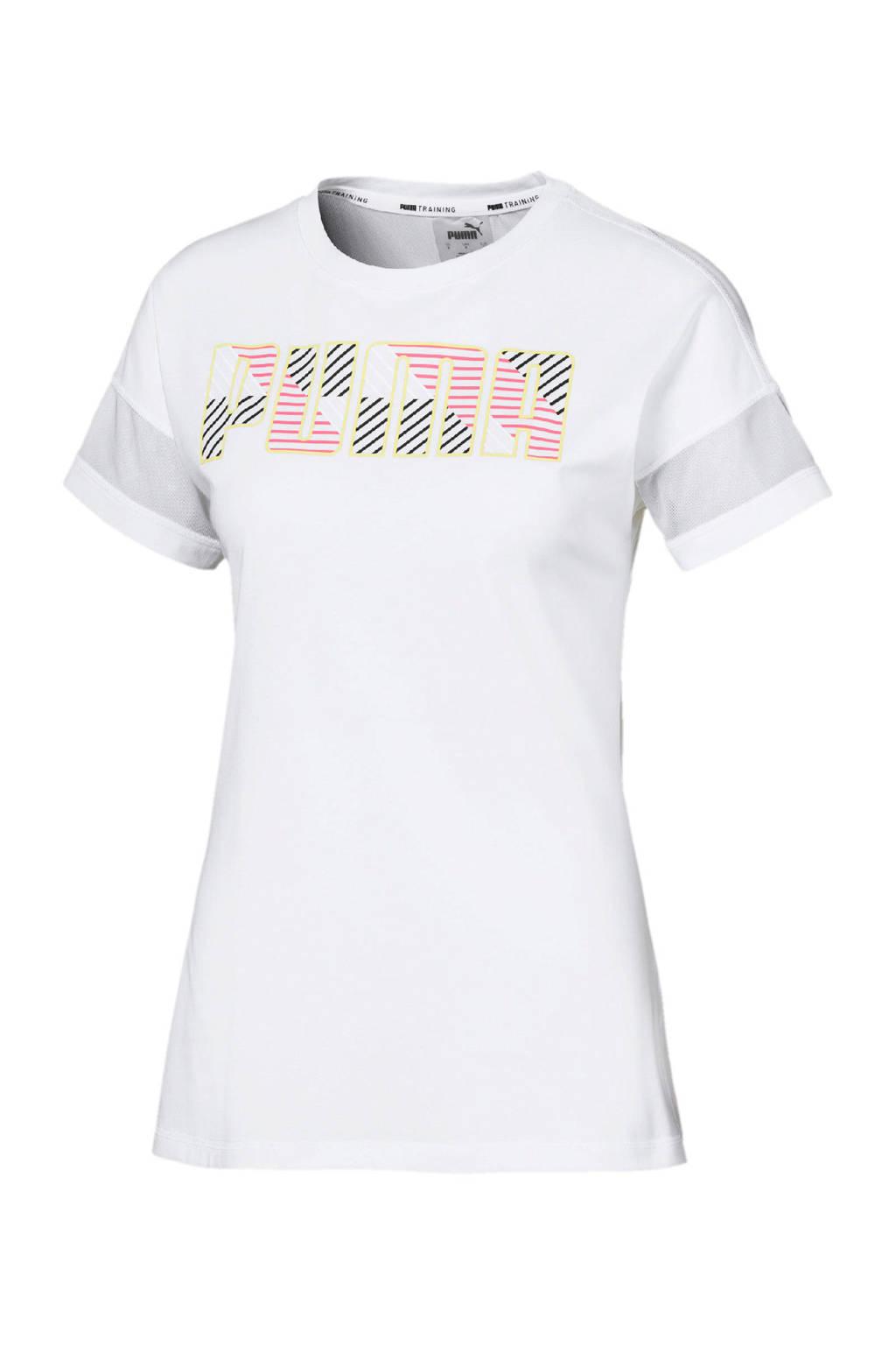 Puma sport T-shirt wit, Wit
