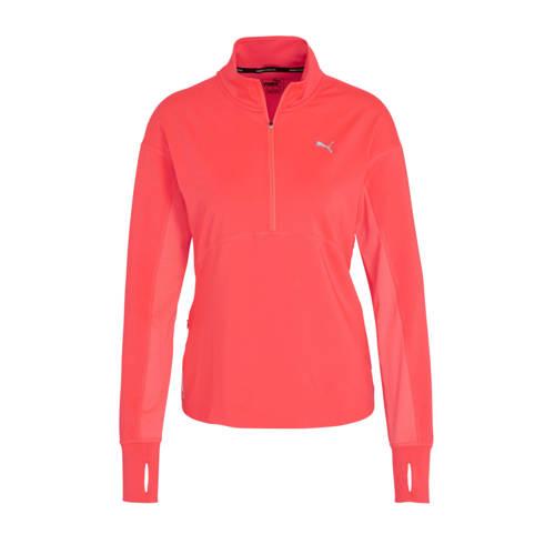 Puma sportsweater roze
