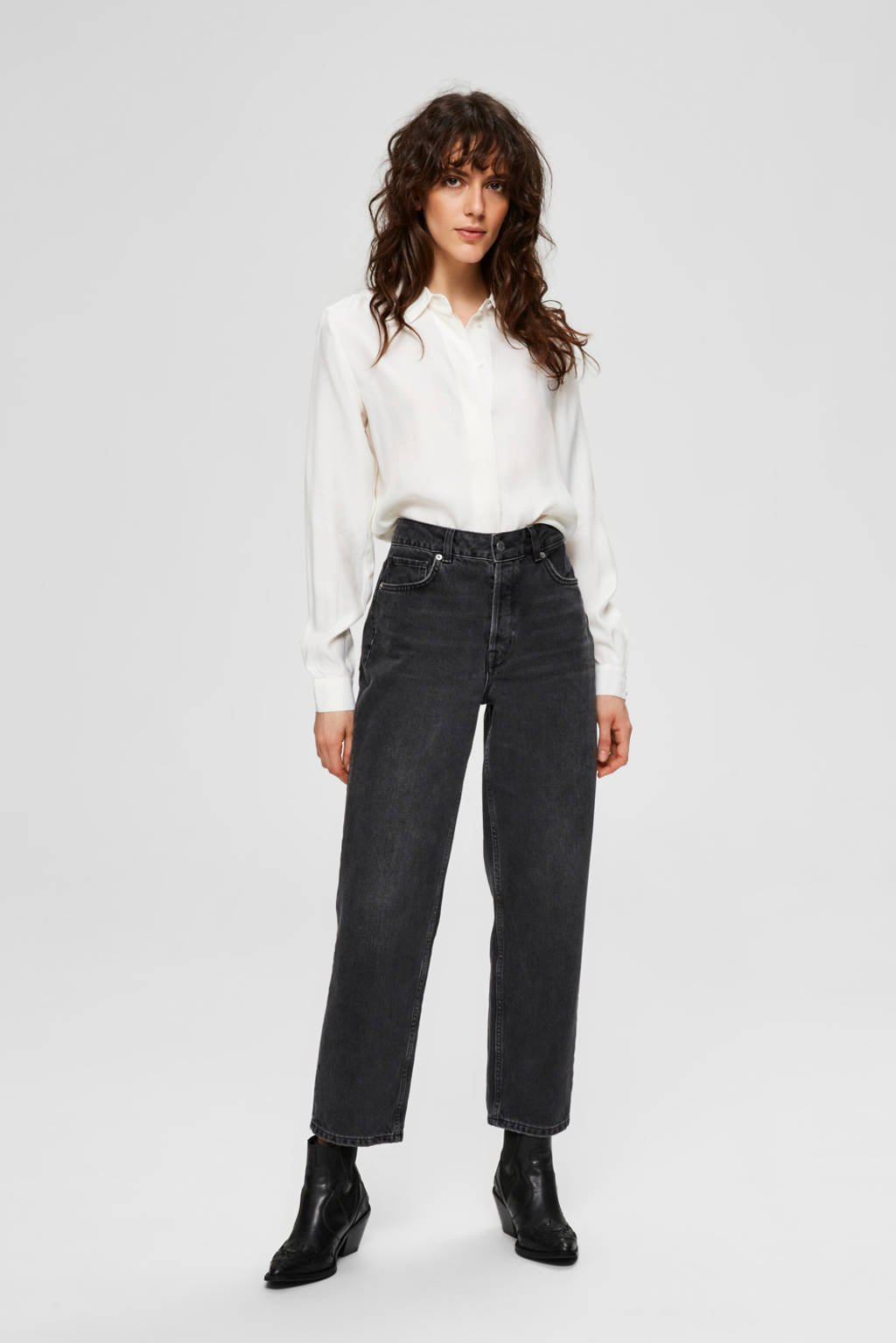 SELECTED FEMME blouse wit, Wit
