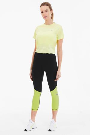 sportbroek zwart/limegroen