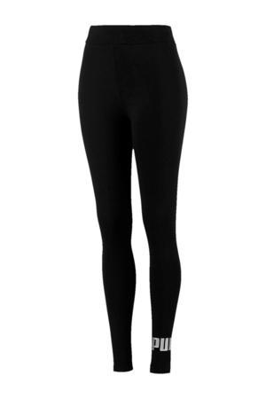 legging zwart/zilver