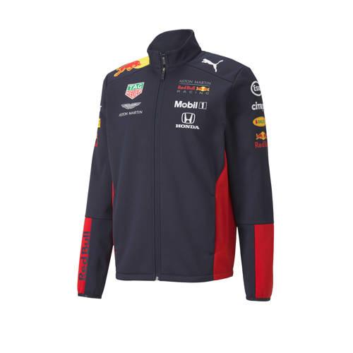 Puma Red Bull Racing softshell vest donkerblauw