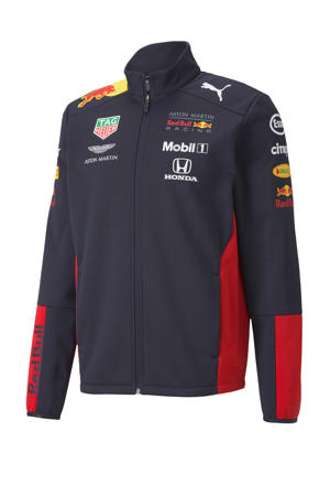 Red Bull Racing softshell vest donkerblauw