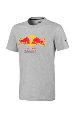 Red Bull Racing T-shirt grijs melange