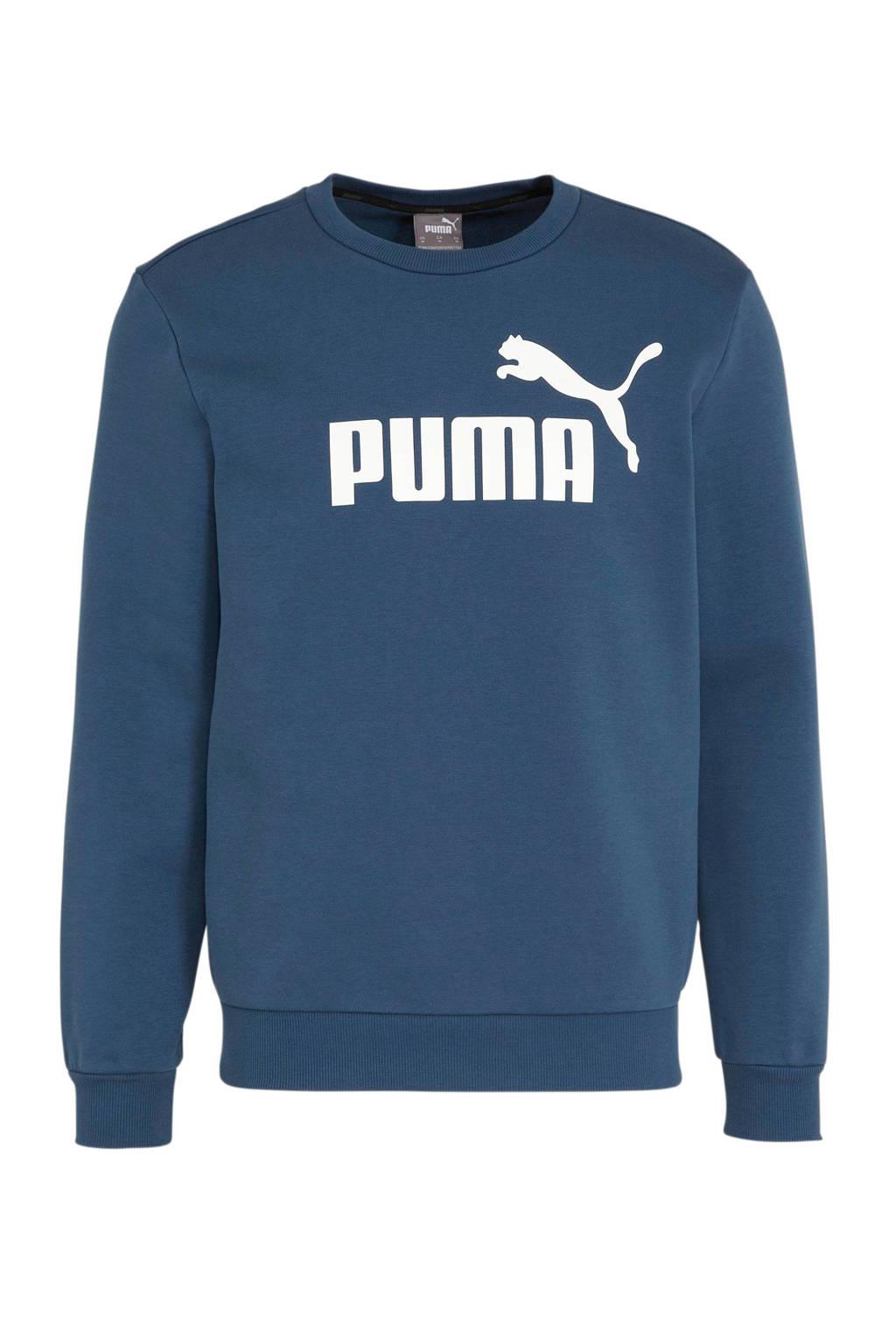Puma   sweater blauw, Blauw