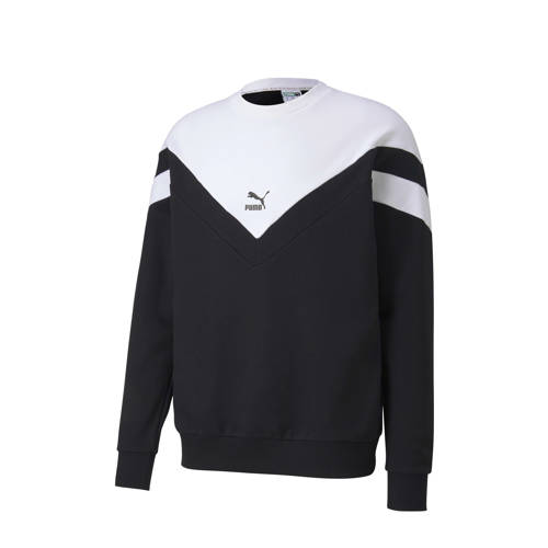 Puma sweater zwart/wit