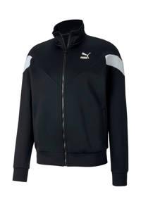 Puma   vest zwart/wit, Zwart/wit