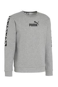 Puma   sweater grijs, Grijs