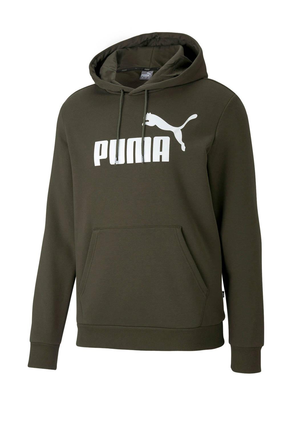 Puma   hoodie kaki, Kaki