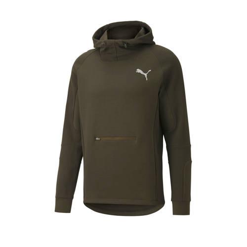 Puma hoodie kaki