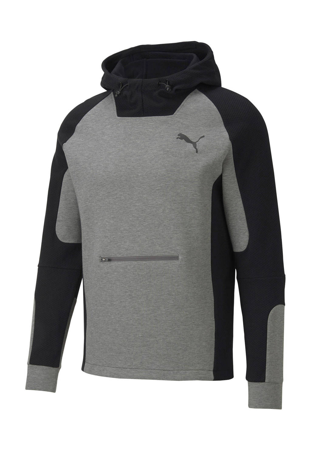 Puma   hoodie grijs/zwart, Grijs/zwart