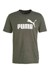 Puma   T-shirt olijfgroen, Olijfgroen