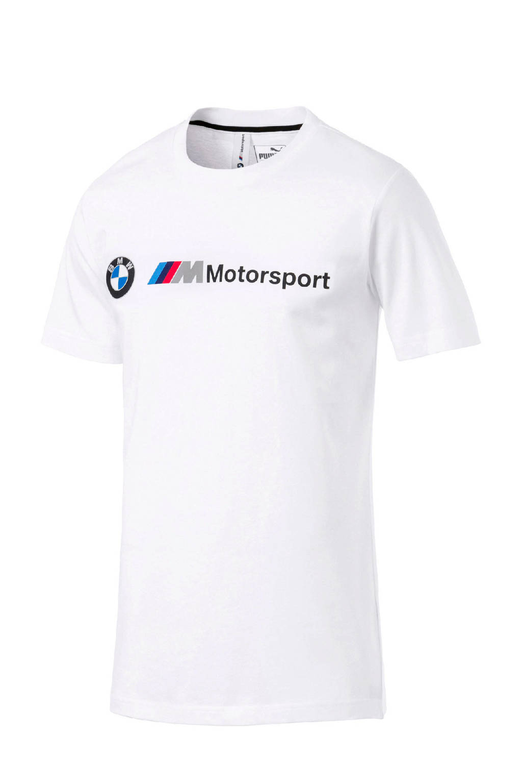 Puma   BMW M Motorsport T-shirt wit, Wit