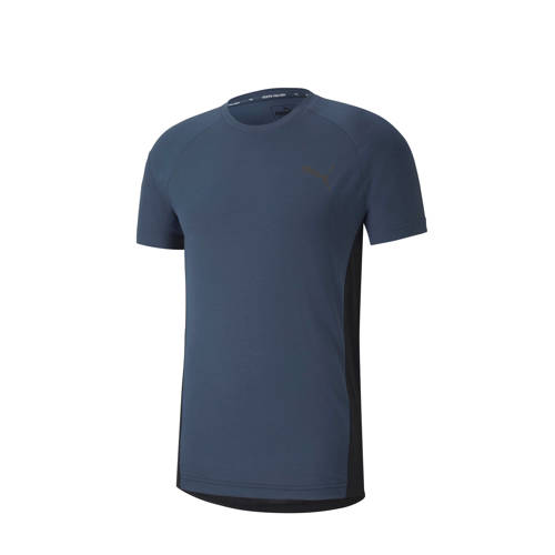 Puma T-shirt denimblauw