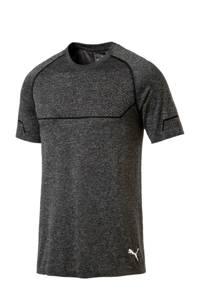 Puma   sport T-shirt antraciet, Anraciet