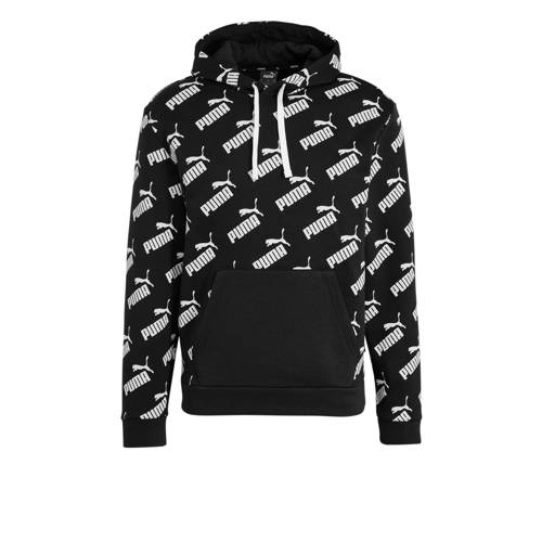 Puma hoodie zwart/wit