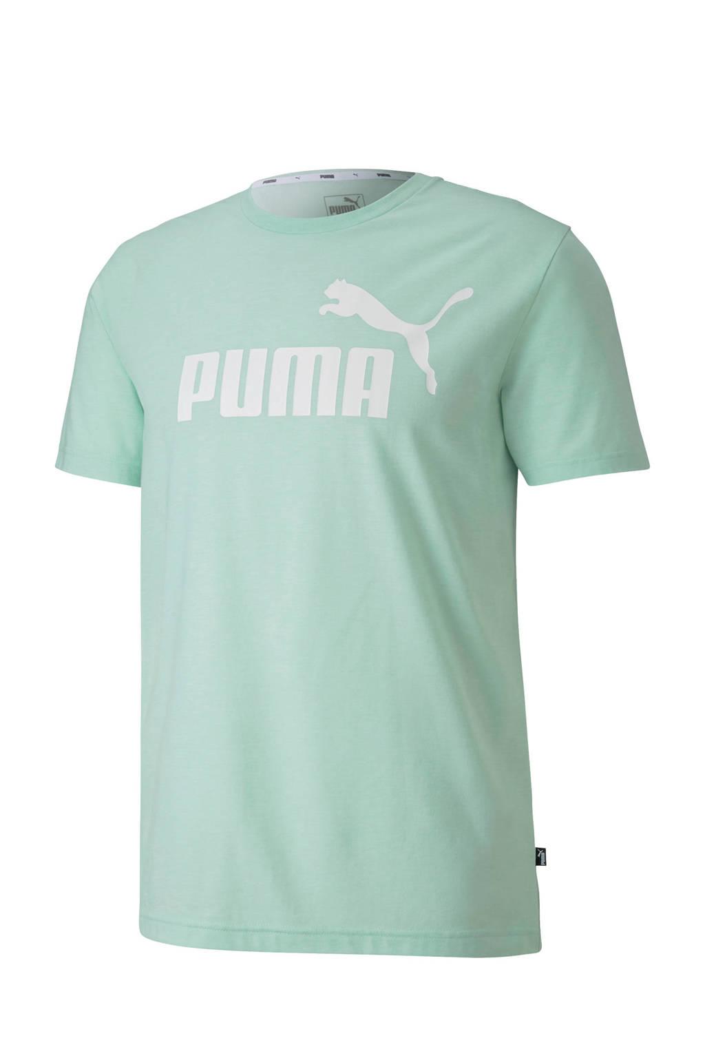 Puma   T-shirt mintgroen, Mintgroen