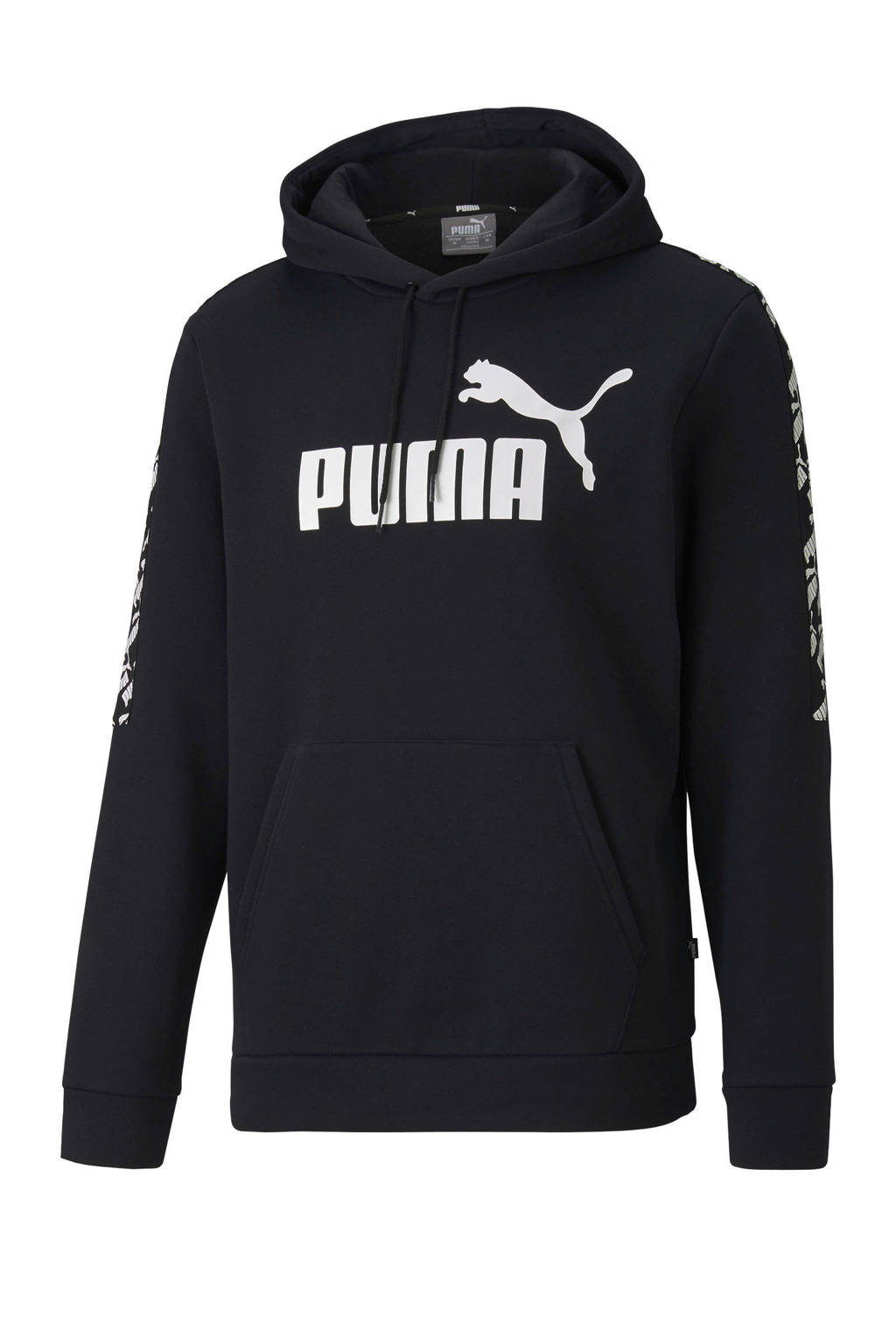 Puma   hoodie zwart, Zwart