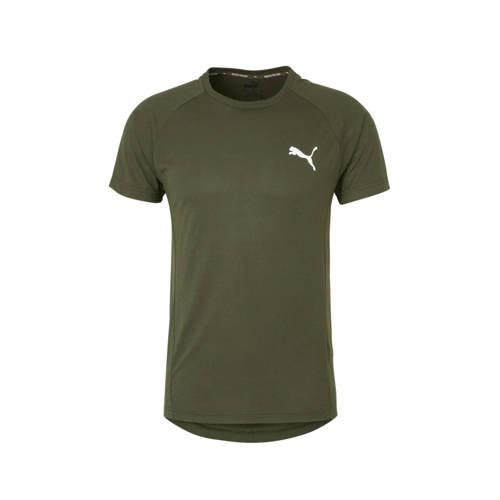Puma T-shirt kaki