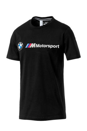 BMW M Motorsport T-shirt zwart