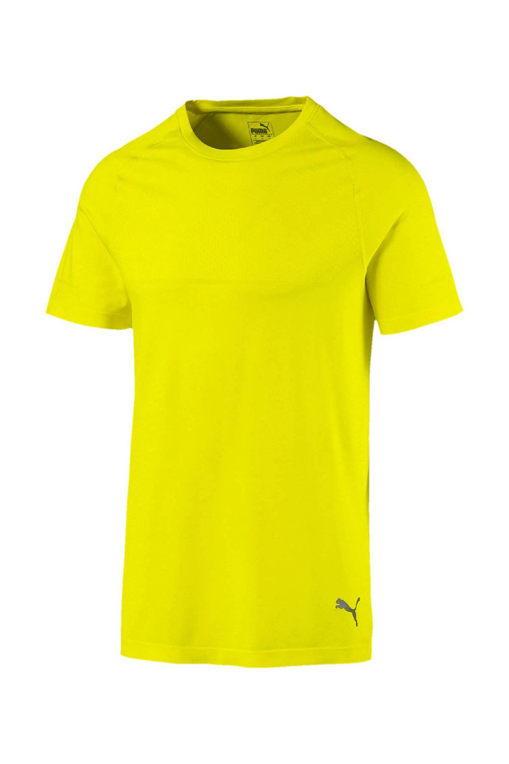 Puma   sport T-shirt limegroen, Limegroen
