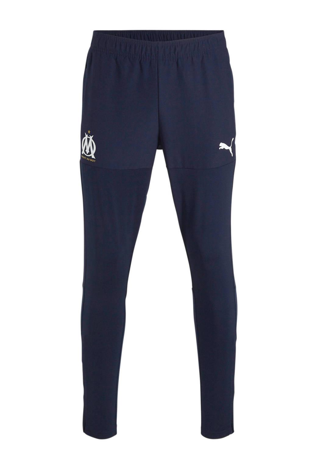 Puma   voetbalbroek donkerblauw, Donkerblauw