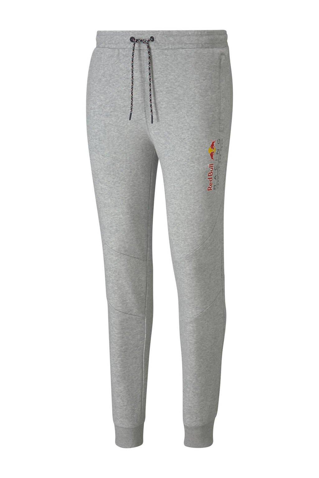 Puma   Red Bull Racing joggingbroek grijs melange, Grijs melange