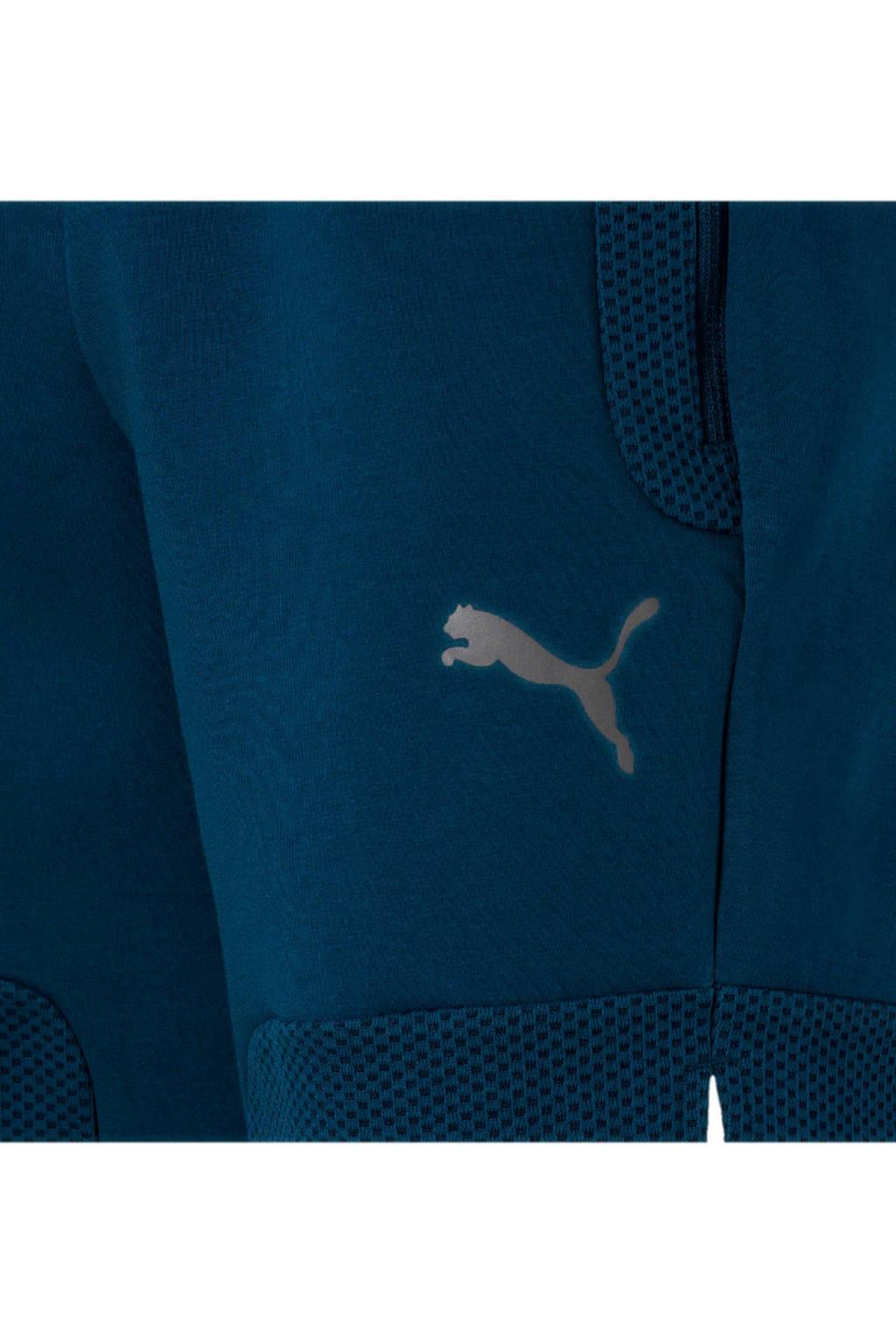 Puma   joggingshort blauw, Blauw