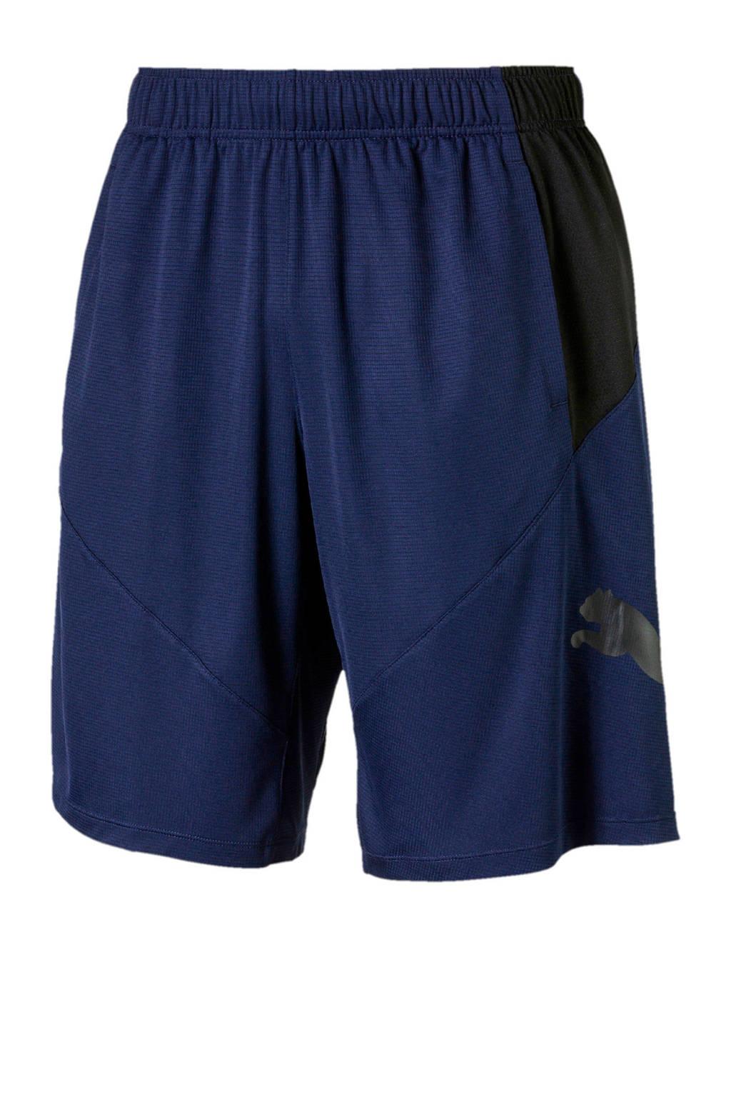 Puma   sportshort donkerblauw, Donkerblauw