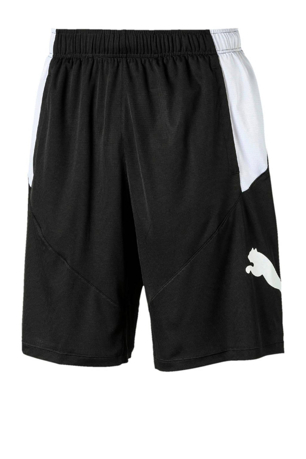 Puma   sportshort zwart/wit, Zwart/wit